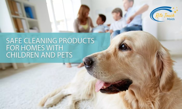Safe-Cleaning-Products-for-homes-with-Children-and-Pets